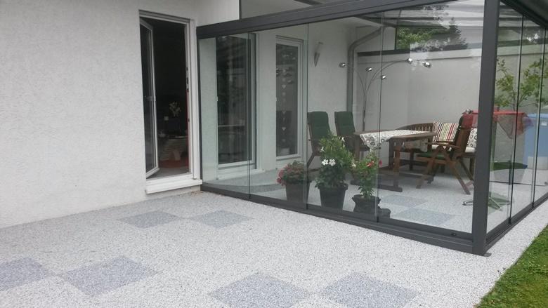 Bilder Terrassen steinteppich terrasse für die schnelle und sichere sanierung