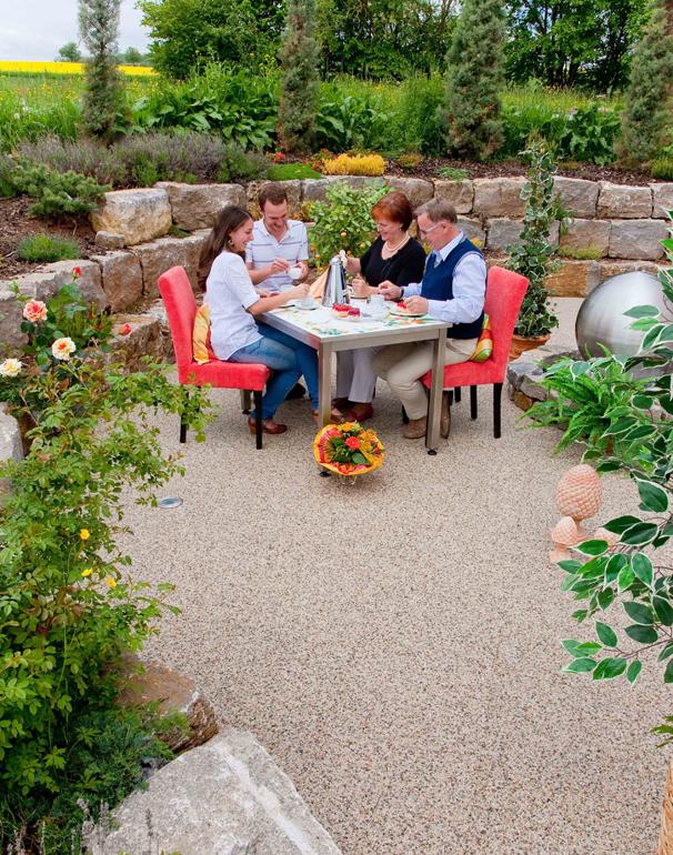 Außenbereich Terrasse Modul Trendfarbe-Mondstein