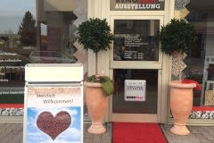 Ausstellung Eingang Schwetzingen