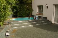 Steinteppich Fliesen Modul Terrasse