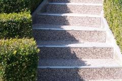Außenbereich Treppe Marmor Latte-Macchiato Modul
