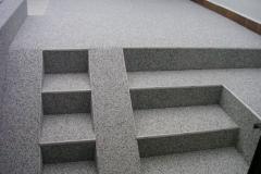 Außenbereich Treppe Trendfarbe Silber Modul
