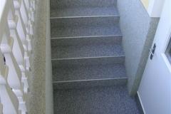 Außenbereich Treppe Trendfarbe Zink Modul