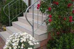 Außenbereich Treppe Marmor Beige Modul