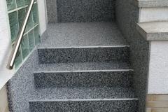 Außenbereich Treppe Mamor Teneriffa Modul