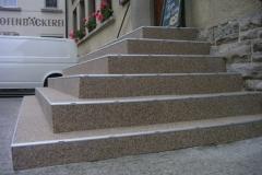 Außenbereich Treppe Natur Hell Modul