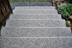 Außenbereich Treppe Natur Rustikal Modul
