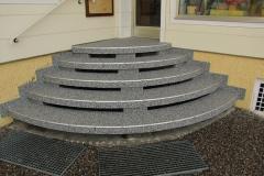 Außenbereich Treppe Marmor Classic Flow