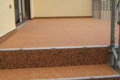 Außenbereich Treppe Marmor Cottonline Modul