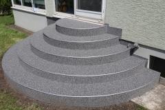 Außenbereich Treppe Marmor Schiefer Flow