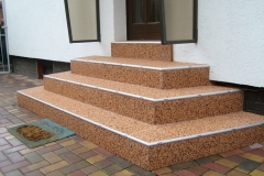 Aussenbereich Treppe Modul Mamor Cottonline