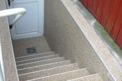 Aussenbereich Treppe Modul Trendfarbe Mondstein