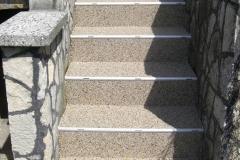 Aussenbereich Treppe Modul Natur Hell