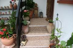 Aussenbereich Treppe Modul Mamor Cappuccino