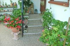 Außenbereich Marmor Cappuccino Modul Treppe