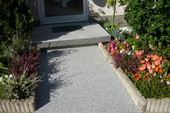 Aussenbereich Treppe Modul Mamor Schiefer