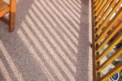Außenbereich Balkon Modul Marmor-Espresso