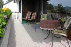 Außenbereich Balkon Modul Trendfarbe-Mondstein