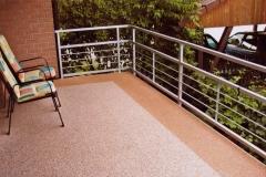 Außenbereich Balkon Modul Mamor-Classic Mamor-Rot