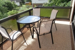 Außenbereich Balkon Modul Trendfarbe-Mondstein Marmor-Espresso