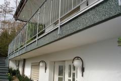 Außenbereich Balkon Modul Marmor-Grün