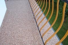 Außenbereich Balkon Modul Marmor-Cappucino