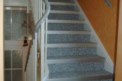 Innenbereich Treppe Flow Modul Trendfarbe-Silber