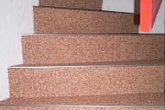 Innenbereich Treppe Flow Modul Marmor-Rose