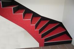 Innenbereich Treppe Flow Modul Sondermischung
