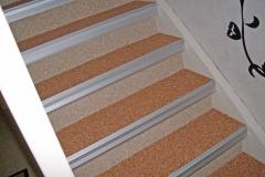 Innenbereich Treppe Modul Marmor-Rot Marmor-Beige