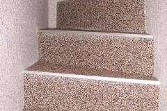 Innenbereich Treppe Modul Natur-Dunkel