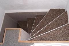 Innenbereich Treppe Flow Modul Natur-Dunkel