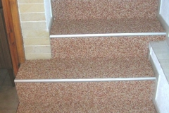Innenbereich Treppe Modul Marmor-Rose