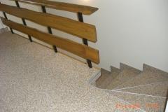 Innenbereich Treppe Flow Modul Sondermischung Marmor-Sonnengelb