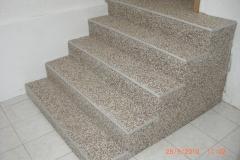 Innenbereich Treppe Modul Sondermischung Marmor-Latte-Macchiato