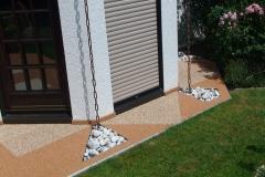 Außenbereich Terrasse Modul Marmor-Classic Marmor-Rot