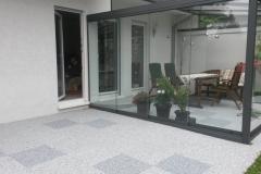 Außenbereich Terrasse Modul Trendfarbe-Silber Trendfarbe-Zink