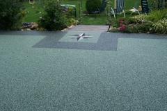 Außenbereich Terrasse Modul Sondermischung Marmor-Grün