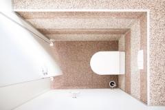 Innenbereich Wand Modul Marmor-Espresso Marmor-Latte-Macchiato