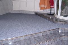 Innenbereich Badezimmer Flow Sanierung Trendfarbe Zink