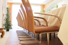 Innenbereich Steinteppich Schulungsraum Modul System Marmor Cappuccino