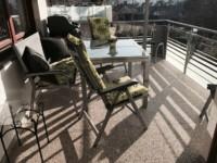 DRAINfloor Balkon mit Trendfarbe Mondstein