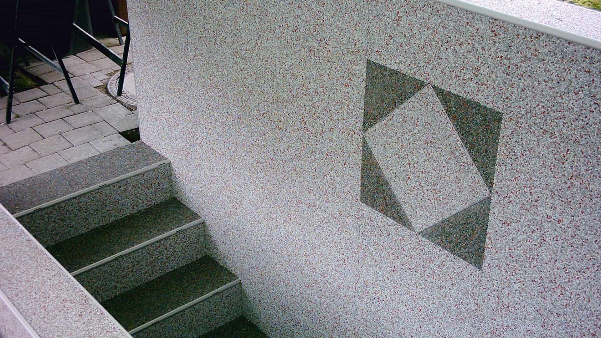 Steinteppich für die Wand