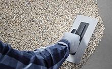 Natursteinteppich Beschichtung für den Innenbereich
