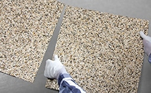 Steinteppich Fertigelemente