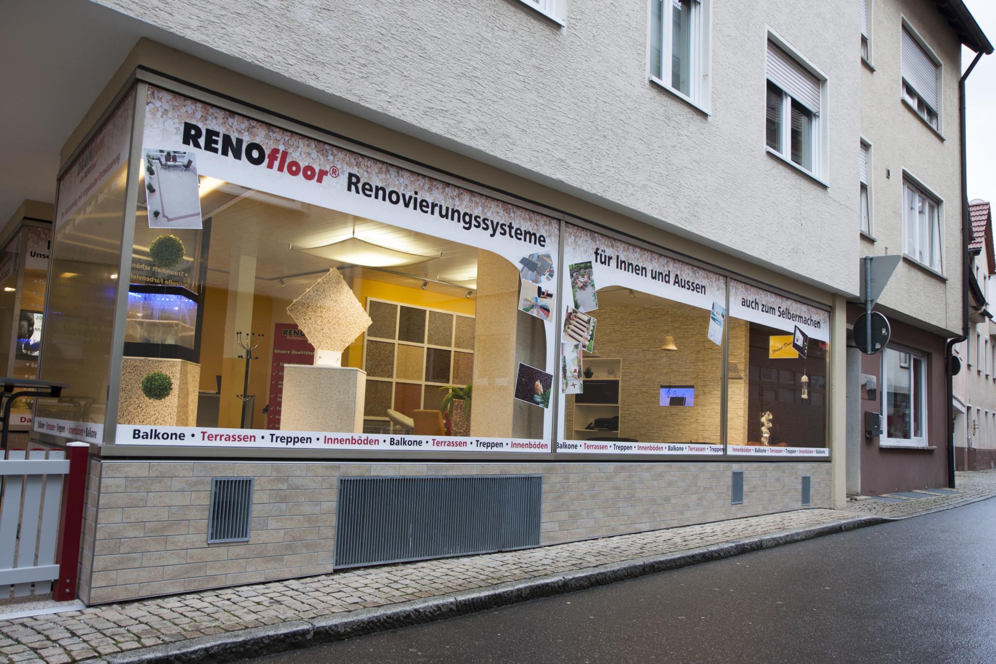 RENOfloor Ausstellung Bad Urach