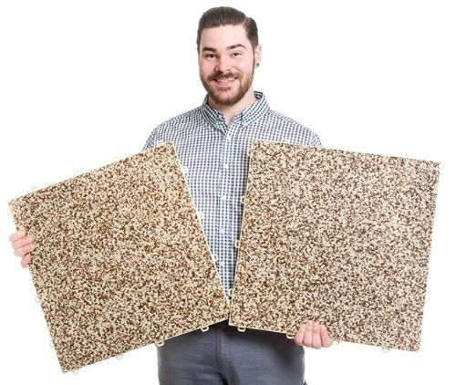 DRAINfloor Klick Steinteppich für den Innen und Außenbereich