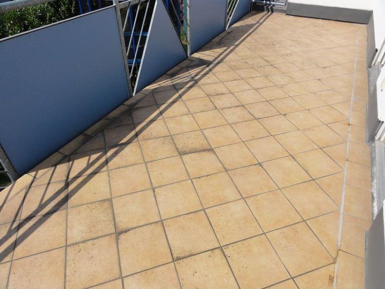 Beschädigter Balkon