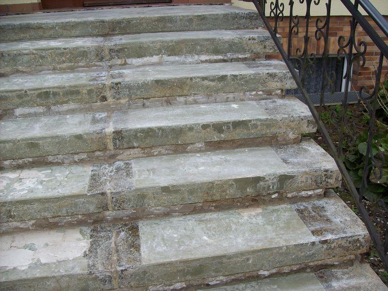 Kunden sagen Danke zur Treppensanierung vorher