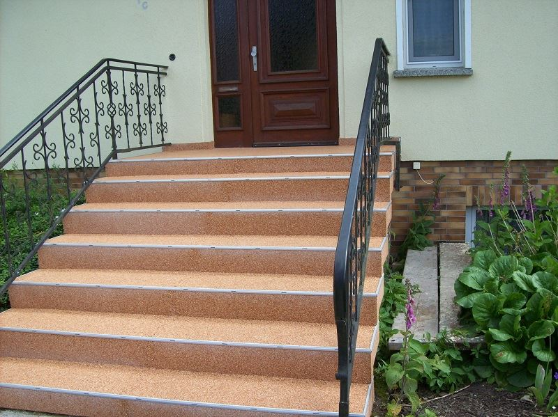 Kunden sagen Danke zur Treppensanierung nacher